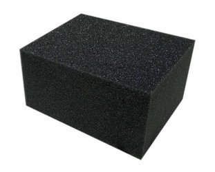 cartec gąbka vinylowa duża czarna