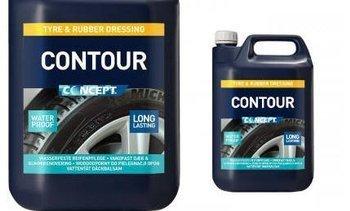 CONCEPT CONTOUR 5L czyści i zabezpiecza opony i gumę