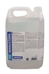 DRACO MANUSTERIL Płyn do dezynfekcji powierzchni rąk 5L