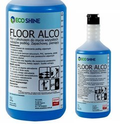 ECO SHINE FLOOR ALCO 1L alkoholowy płyn do mycia podłóg Koncentrat