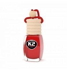 K2  Zapach samochodowy 8ml CHERRY wiśnia stopniowa aplikacja