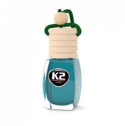 K2  Zapach samochodowy 8ml zielona herbata stopniowa aplikacja