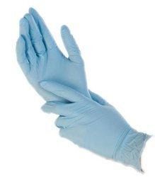 RĘKAWICE JEDNORAZOWE NITRYLOWE A100 XL Niebieskie 100szt