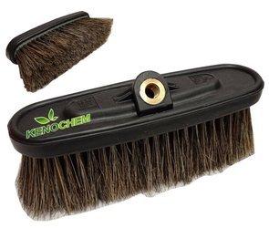 SZCZOTKA Do MYJNI samochodowej z płytką MTM naturalne włosie 60mm