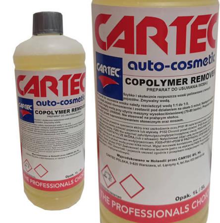 CARTEC COPOLYMER REMOVER 1L usuwanie zmywanie wosku z lakieru wosków polimerowych
