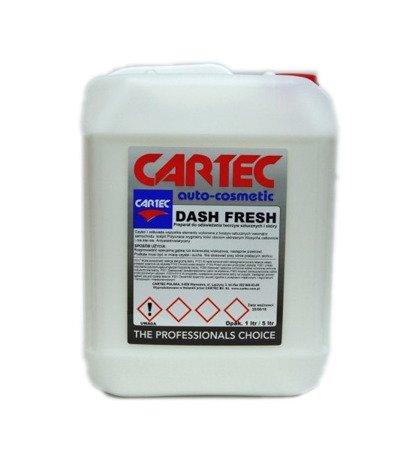 Cartec Dash Fresh Odświeżanie i Pielęgnacja Kokpitu i Skóry 25L