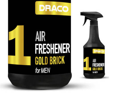 DRACO Air Freshener Gold Brick For Men