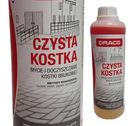 DRACO Czysta Kostka 1L mycie kostki brukowej posadzki