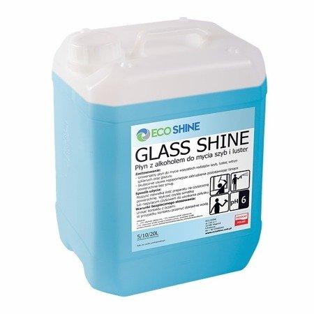 ECO SHINE GLASS SHINE 5L Płyn alkoholem do mycia szyb luster