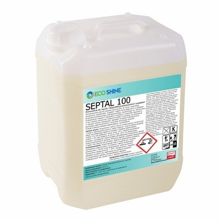 ECO SHINE SEPTAL 100 5L dezynfekcja powierzchni i urządzeń
