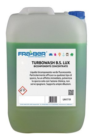 Fraber Turbowash BS LUX 25kg mycie podłóg warsztatu ze smaru oleju