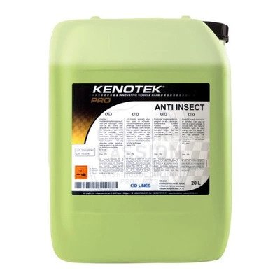 Kenotek ANTI INSECT 20L usuwanie owadówz pojazdów