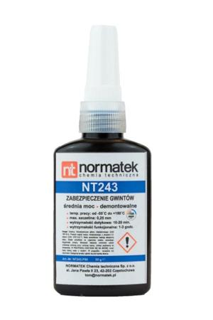 NORMATEK klej Do Gwintów Średni 50 g  NT 243