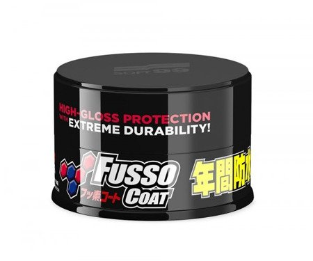 SOFT99 New Fusso Coat 12m Wax Dark trwała powłoka