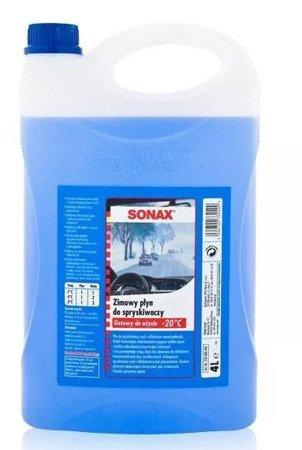 SONAX Płyn do spryskiwaczy zimowy -20°C 4L Pachnie