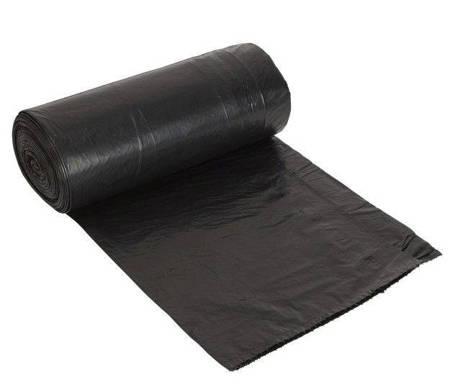 WORKI NA ODPADY na śmieci 120L 25sztuk Czarne Mocne Grube