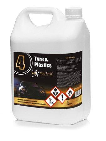 Youtech 2 TYRE & PLASTIC 5L Mokra Opona Konserwuje