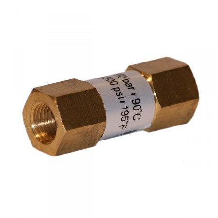 Zawór zwrotny GW1/4 40l/min 310bar myjnia samochodowa